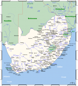 major cities of south africa